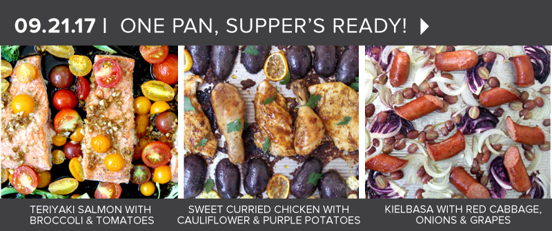 One Pan, Supper's Ready