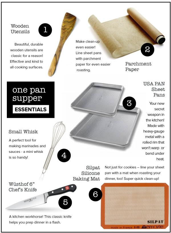 One Pan Supper Essentials