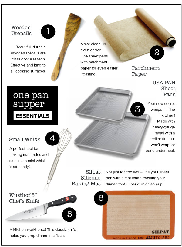 One Pan Supper Essentials