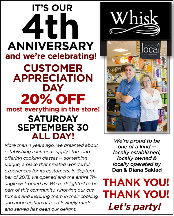 Whisk - 4th Anniversary