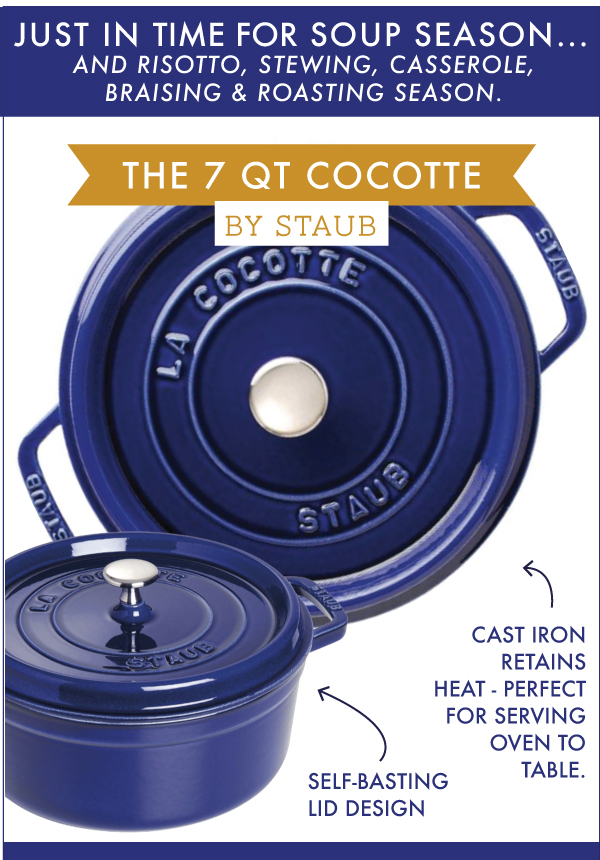 Staub Cocotte Feature