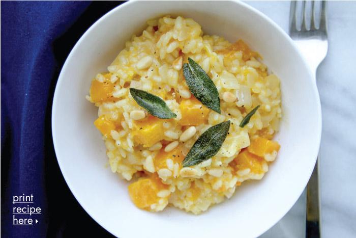 Saffron & Butternut Squash Risotto