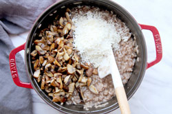 Mix Risotto together