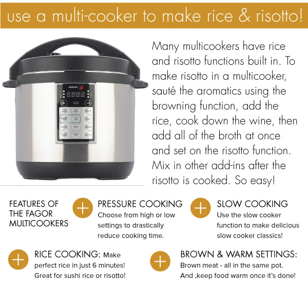 Use a Multicooker
