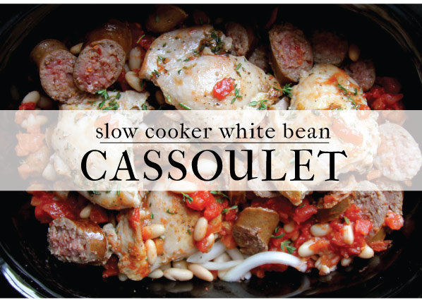 Slow Cooker Cassoulet