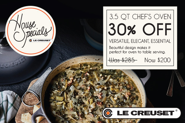 Le Creuset House Special