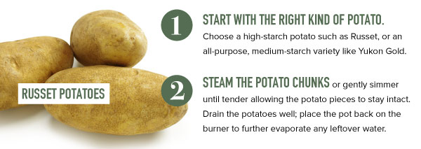 Use Russet Potatoes