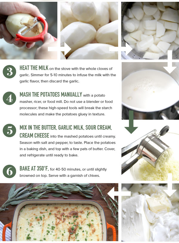 Make Mashed Potatoes