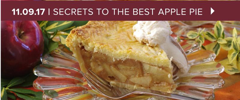 Secrets to the Best Apple Pie