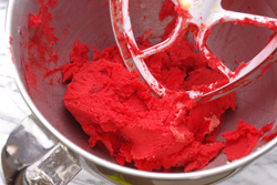 Red Food Coloring Mixed In