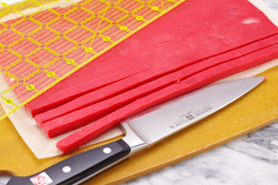 Cutting Strips - Red