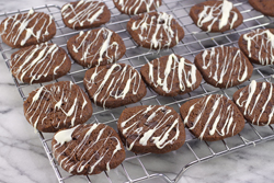 White Chocolate Drizzled