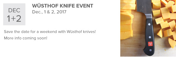 Wusthof Knife Event