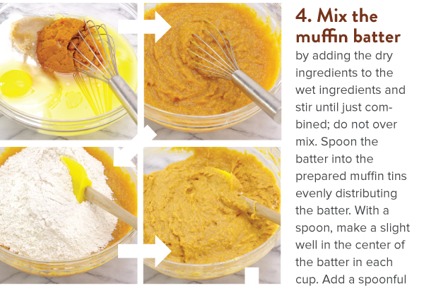 Mix Muffin batter