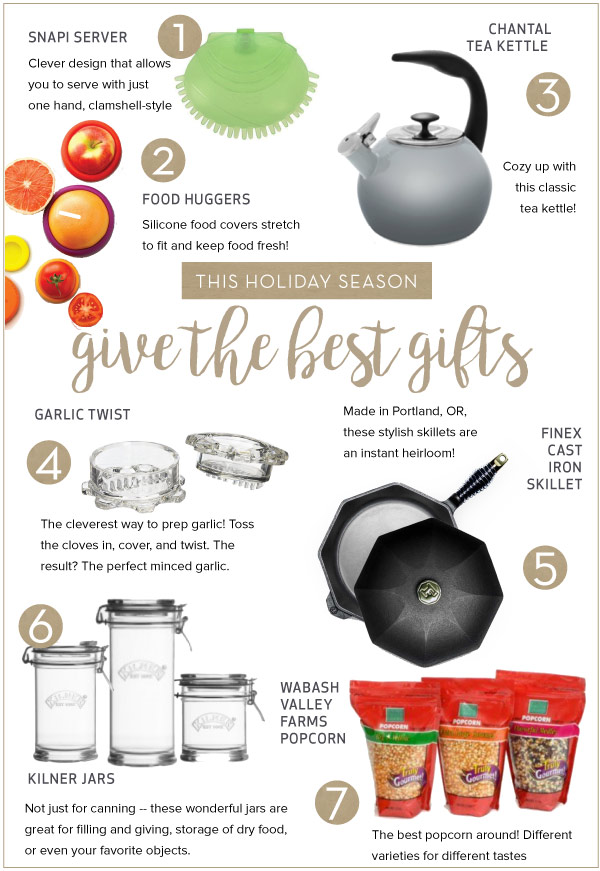 Sweet and Savory Gifts from Your Kitchen