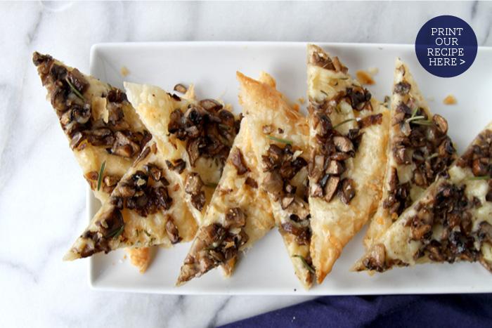 Mushroom & Gruyere Tart