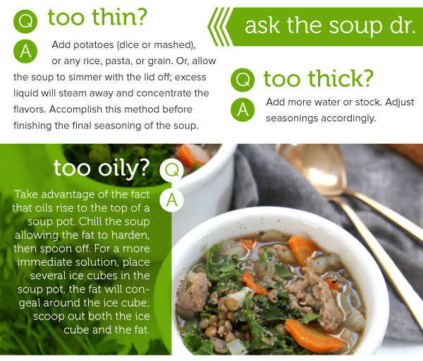 Ask the Soup Doctor