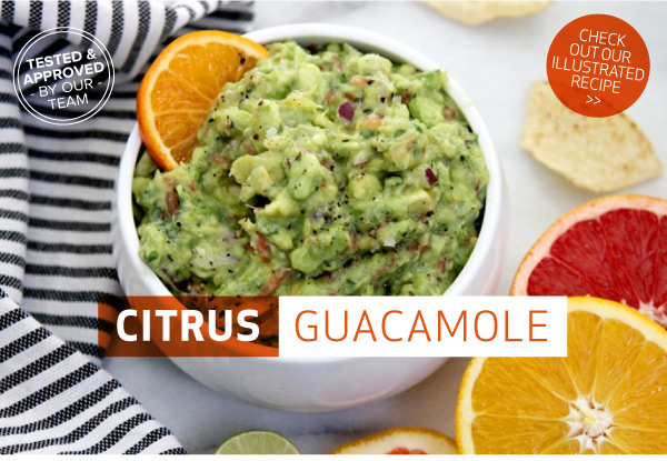 RECIPE: Citrus Guacamole