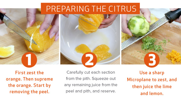 Prepare the Citrus