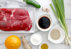Beef Ingredients