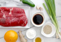 Beef Ingredients