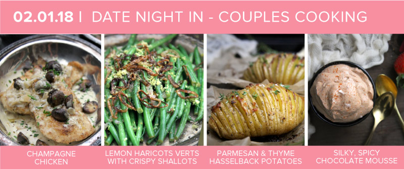 Date Night Menu