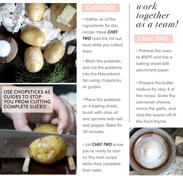 Directions for Making Potatoes