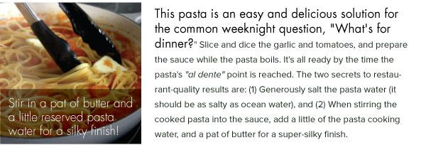 Fresh Pasta Secrets