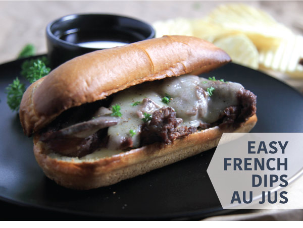 Easy French Dips
