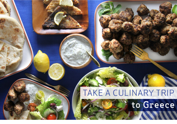 Take a Culinary Trip to Greece