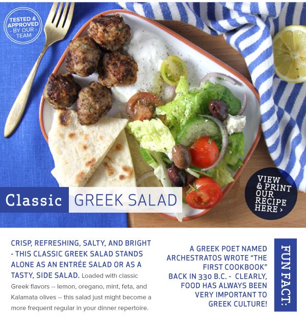 RECIPE: Classic Greek Salad