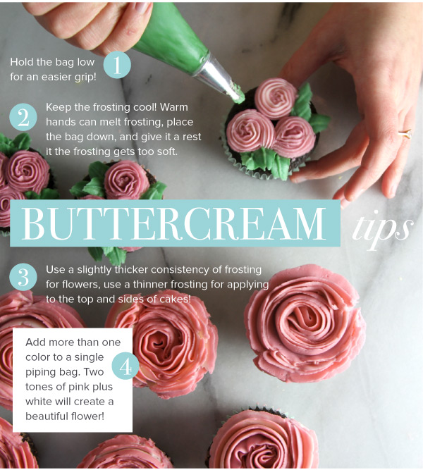 Buttercream Tips