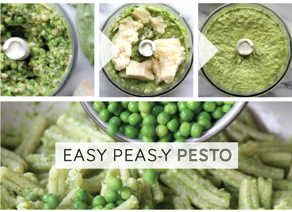 Easy Peas-y Pesto