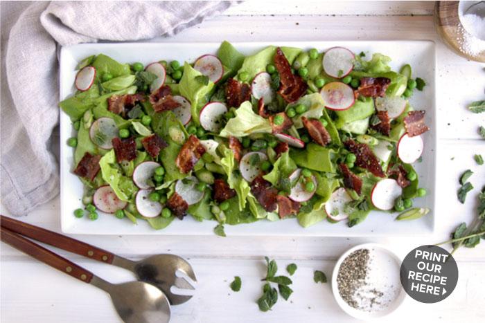 Simple Spring Salad