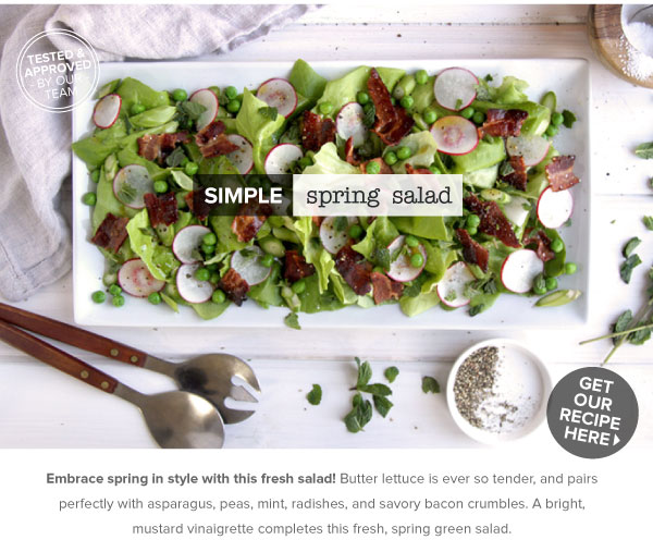 RECIPE: Simple Spring Salad