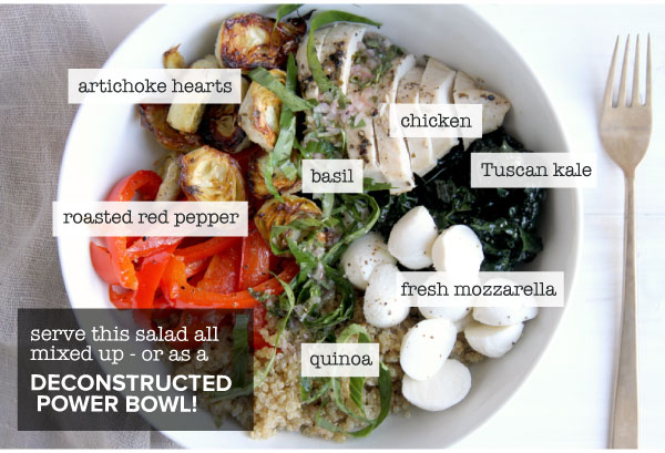Deconstructed Power Bowl
