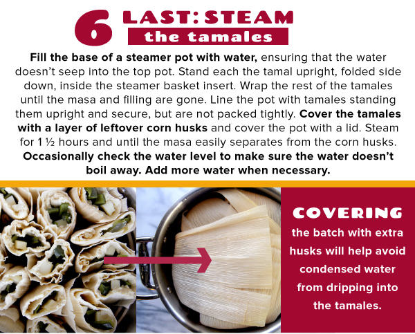 Step 5: Steam
