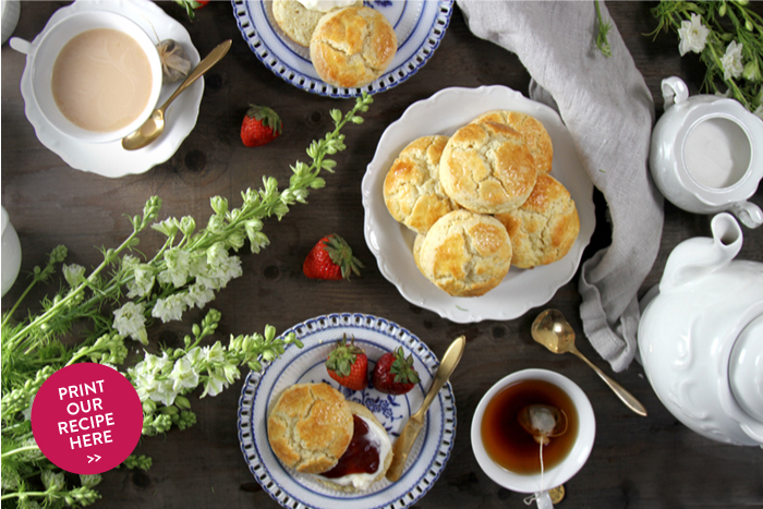 English Scones with Cottled Cream
