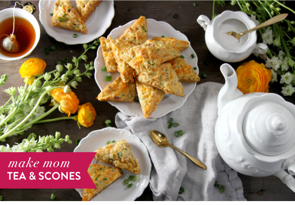 Make Mom Tea and Scones