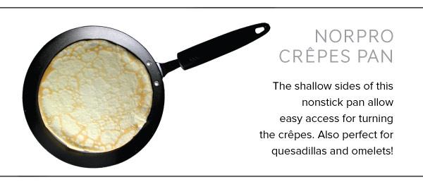 Crepes pan