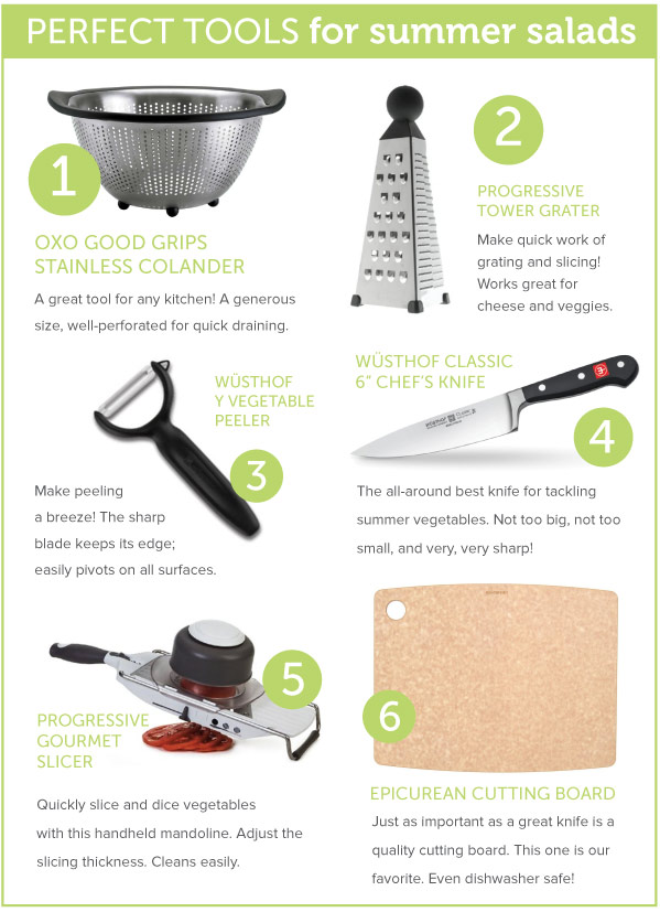 Tools for Summer Salads