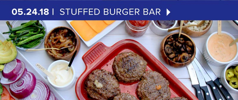 Stuffed Burgers and the Best Burger Bar