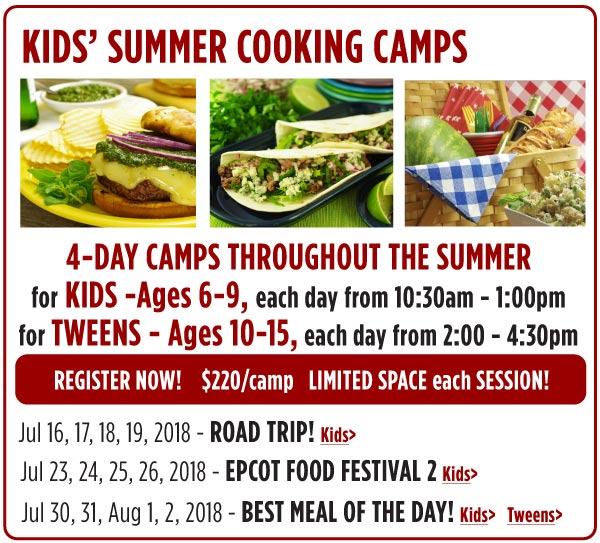 Kids Cooking Camps
