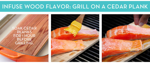 Infuse Wood Flavor: Grill on a Cedar Plank