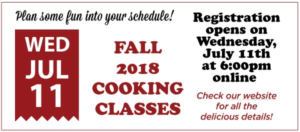 Registration for Fall Classes