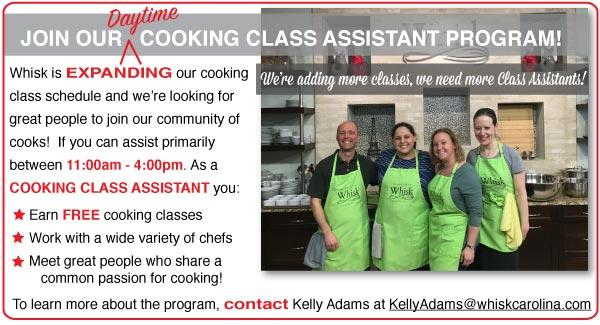 Cooking Assistants