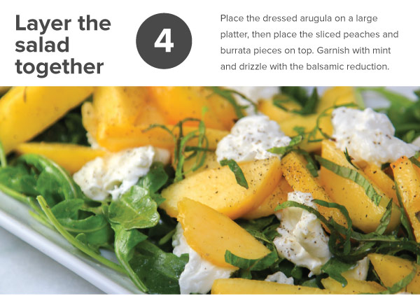 Feeling Peachy Caprese Salad