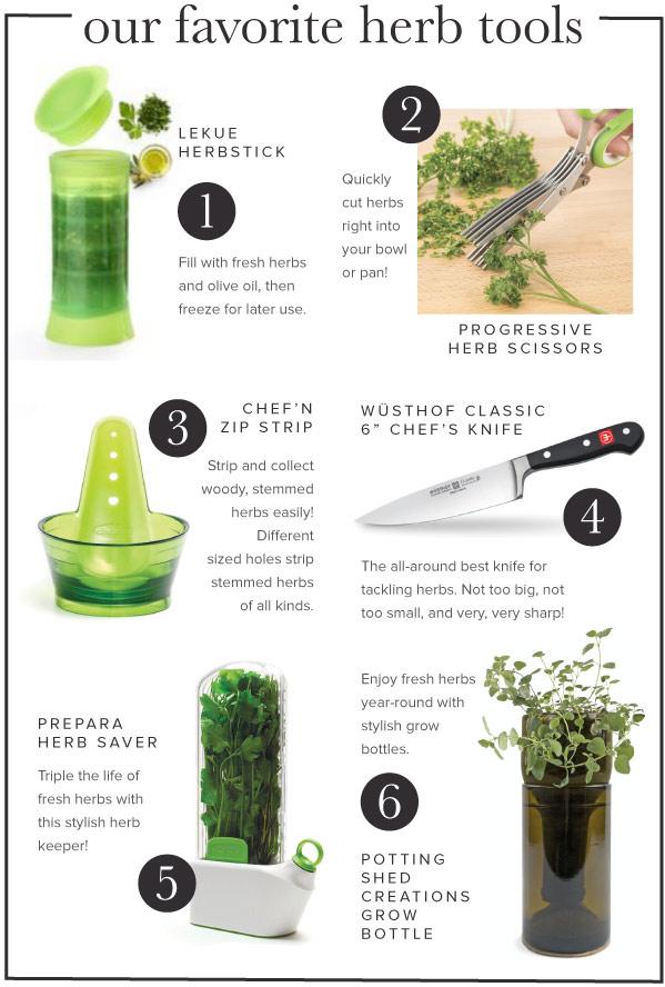 Favorite Herb Tools