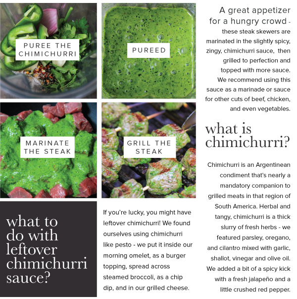 What is Chimichurri?