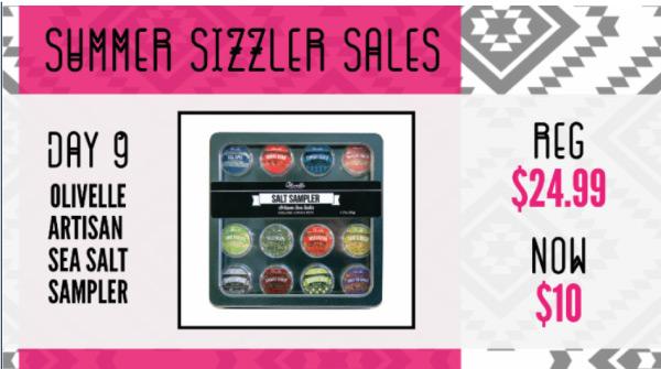 Summer Sizzler Sales
